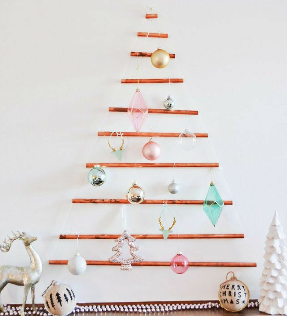 25 Space Saving Christmas Trees Alternative Christmas
