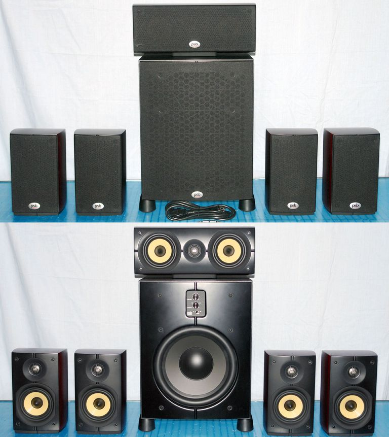 PSB Imagine Series Speakers with SubSeries 200 - 5.1 Channel Speaker System