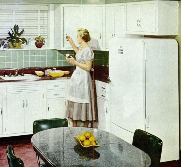 1950 Kitchen Amazing Kitchen Trends Introduced In The 1950S Inspiration