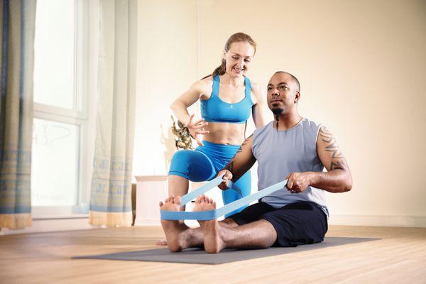Yoga Therapist at Work