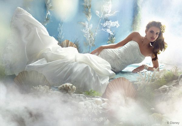 Ariel Disney Princess Wedding Dress