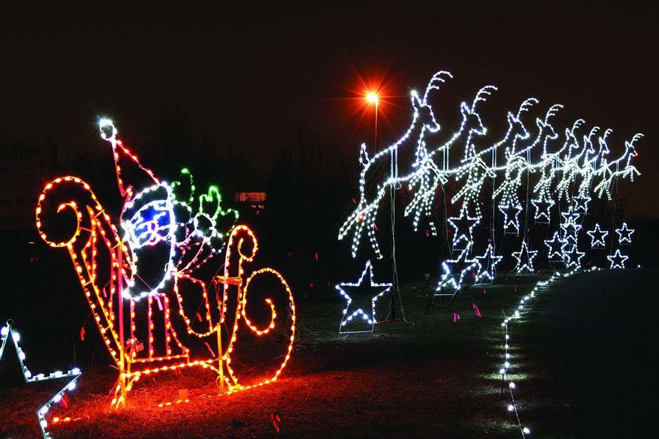 Bull run christmas lights 2017 centreville virginia