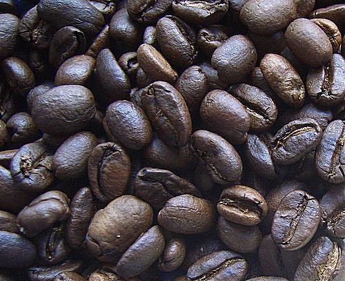 The most common source of caffeine is coffee beans.