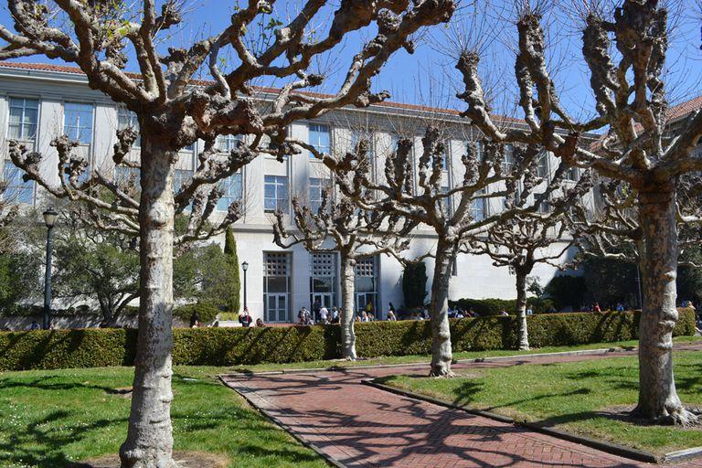 Le Conte Hall at Berkeley