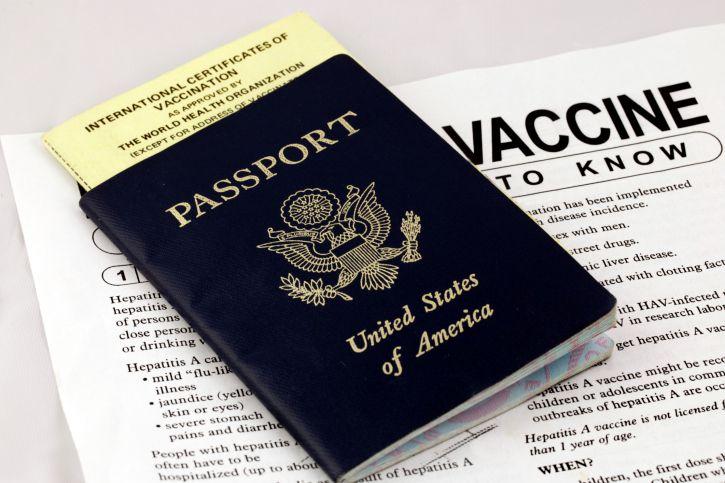 passport and travel health advisory
