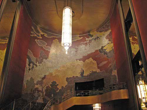 Rockefeller Center Lobby