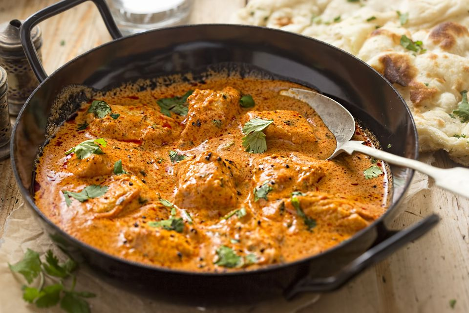 how to make butter chicken with cream
