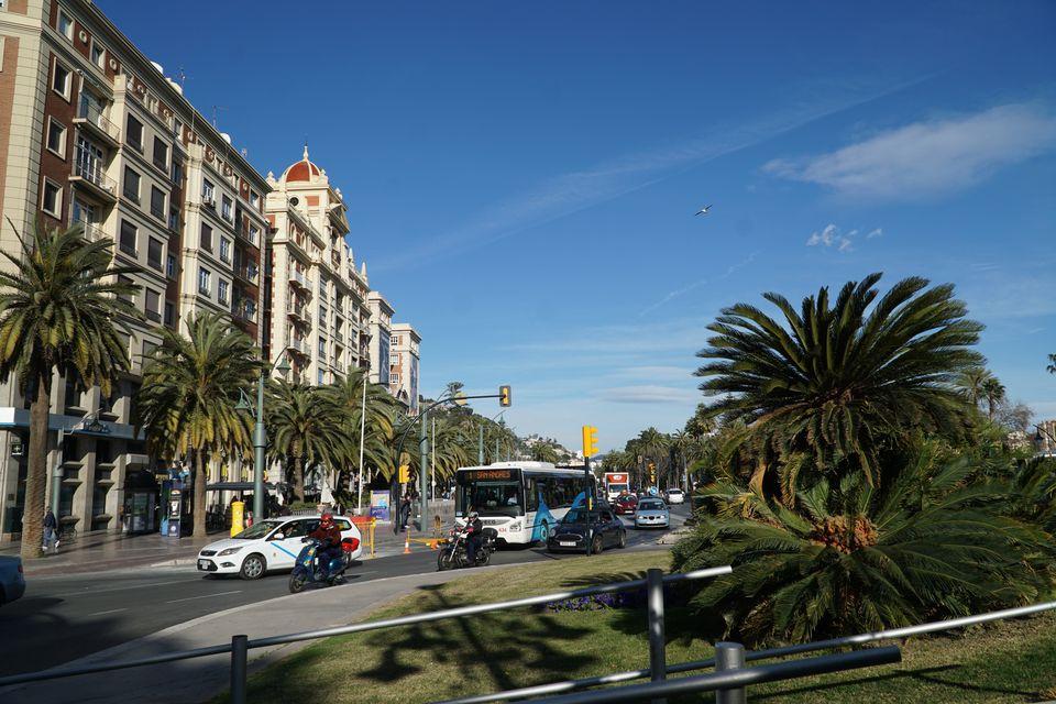 Bus in Malaga