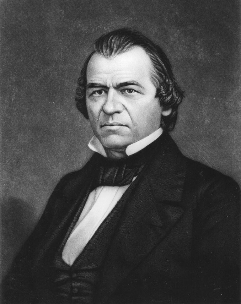 Andrew Johnson - Seventeenth President of the United States