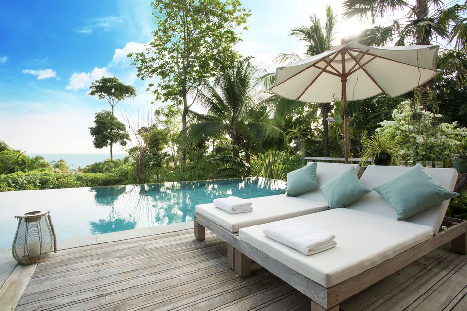 Trisara luxury resort on Phuket in Thailand