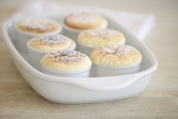 how to make a vanilla souffle