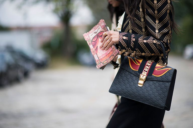 Guests seen during Milan Fashion Week Spring/Summer 2017 on September 21, 2016 in Milan, Italy.