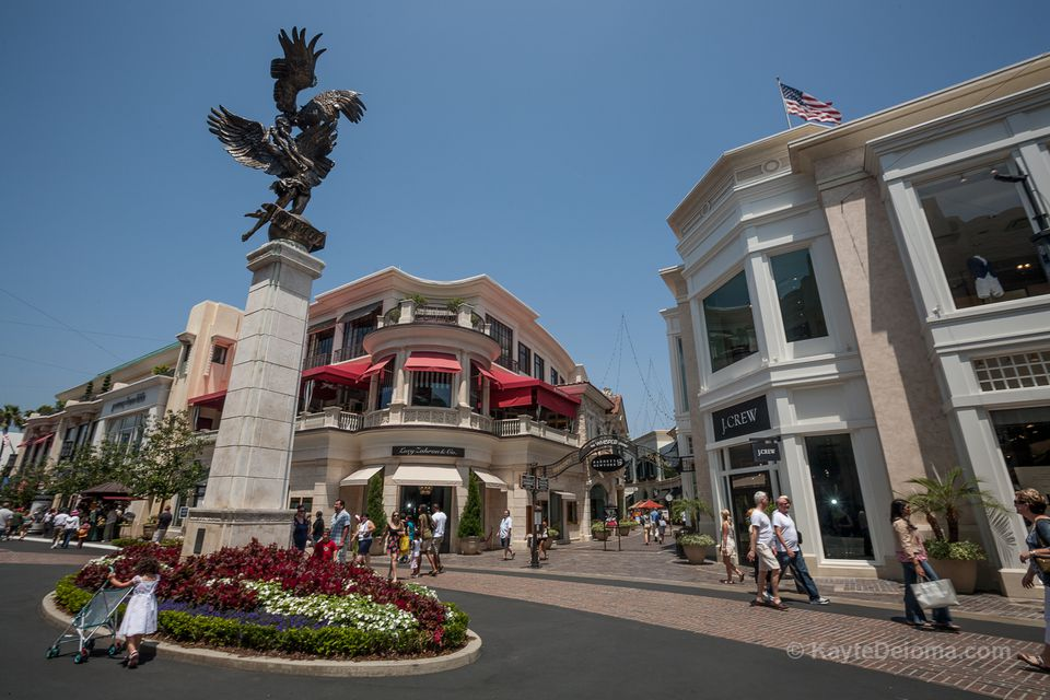 The Spirit of Los Angeles at the Grove in Los Angeles