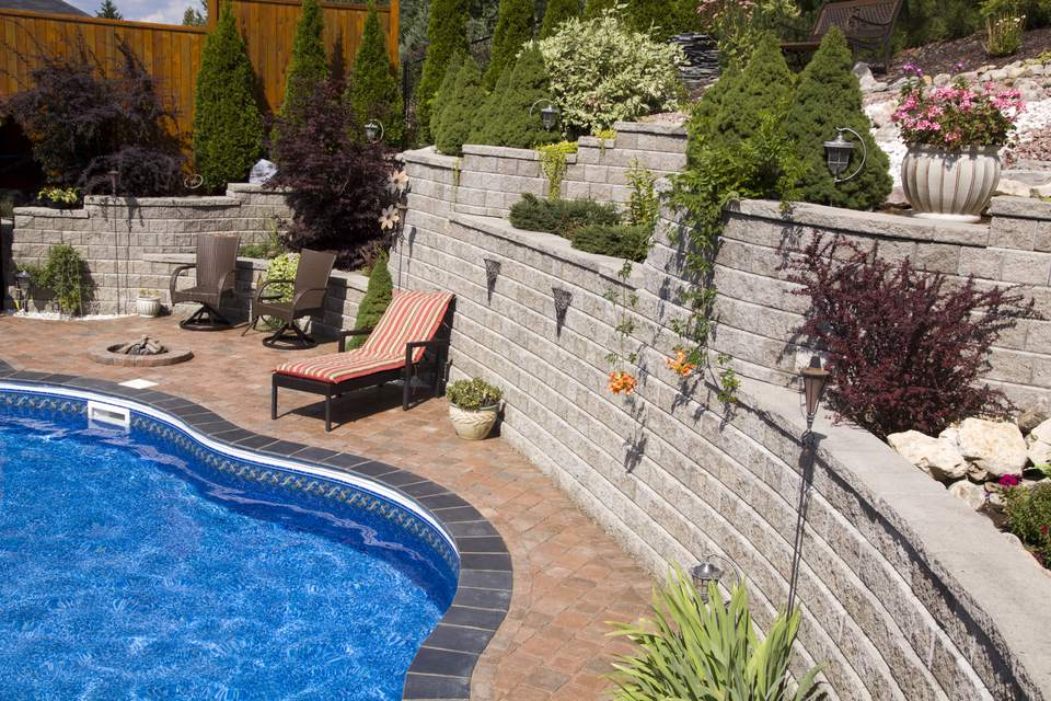 How To Landscape With Rocks Hardscape Ideas