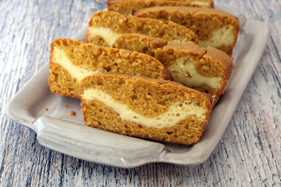 pumpkin cream cheese bread