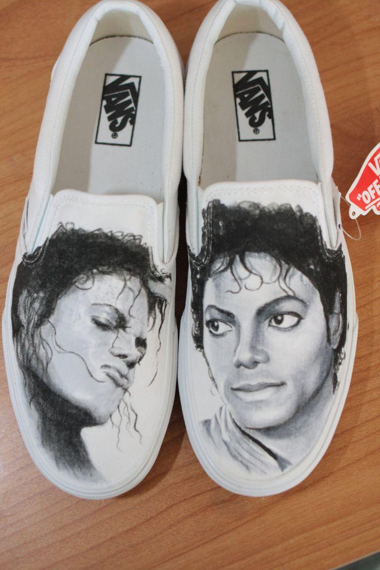 Michael Jackson Vans By Matt Cory Anderson