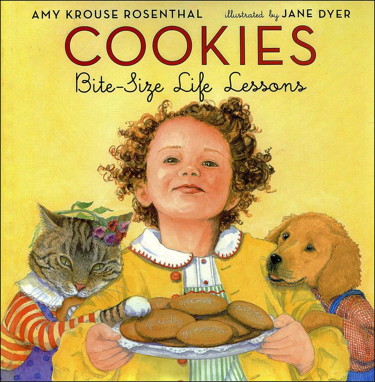 Cookies: Bite-Size Life Lessons - picture book cover