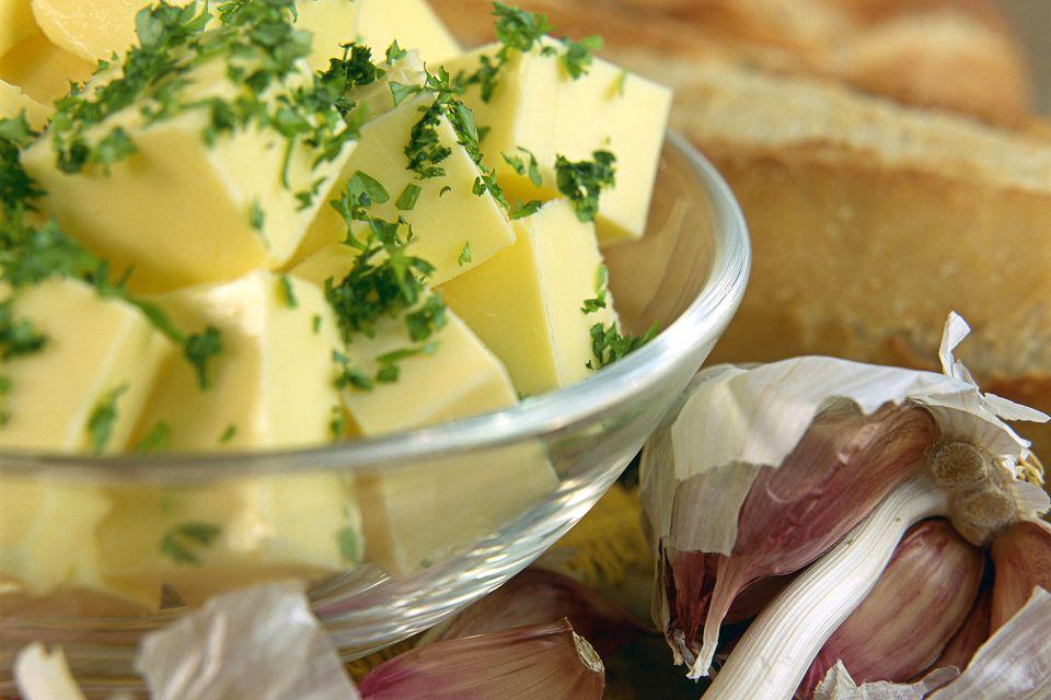 Garlic Butter Preparation