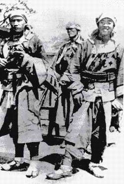 The Kansu Braves were among the fiercest fighters in the Boxer Rebellion