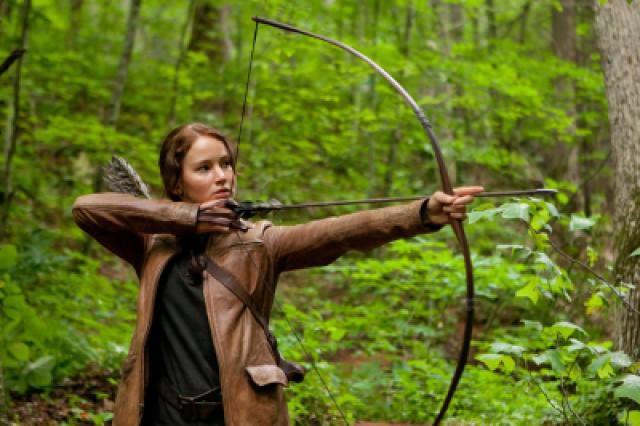 The Hunger Games - Jennifer Lawrence as Katniss Everdeen