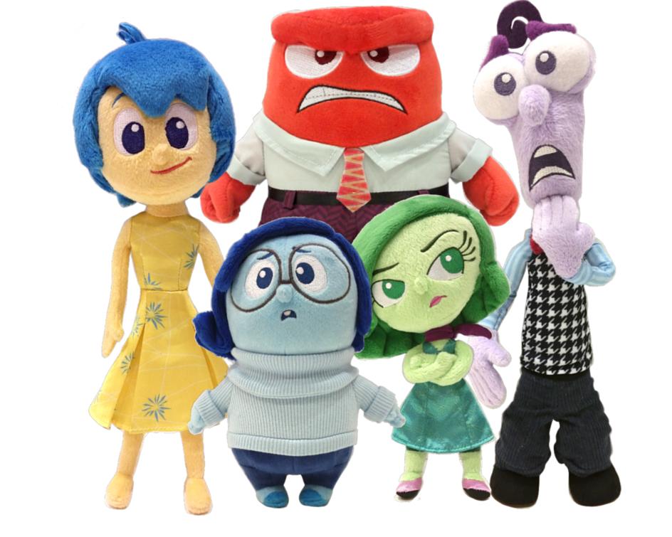 Disney Pixar Inside Out Plush Toys TOMY