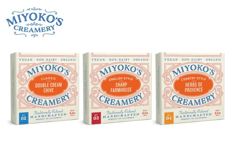 Miyoko's Creamery vegan cheese packaging