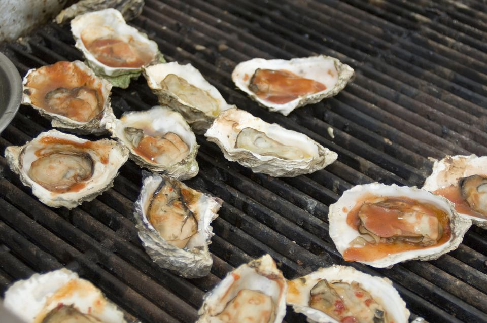 BBQ Oysters on the Grill