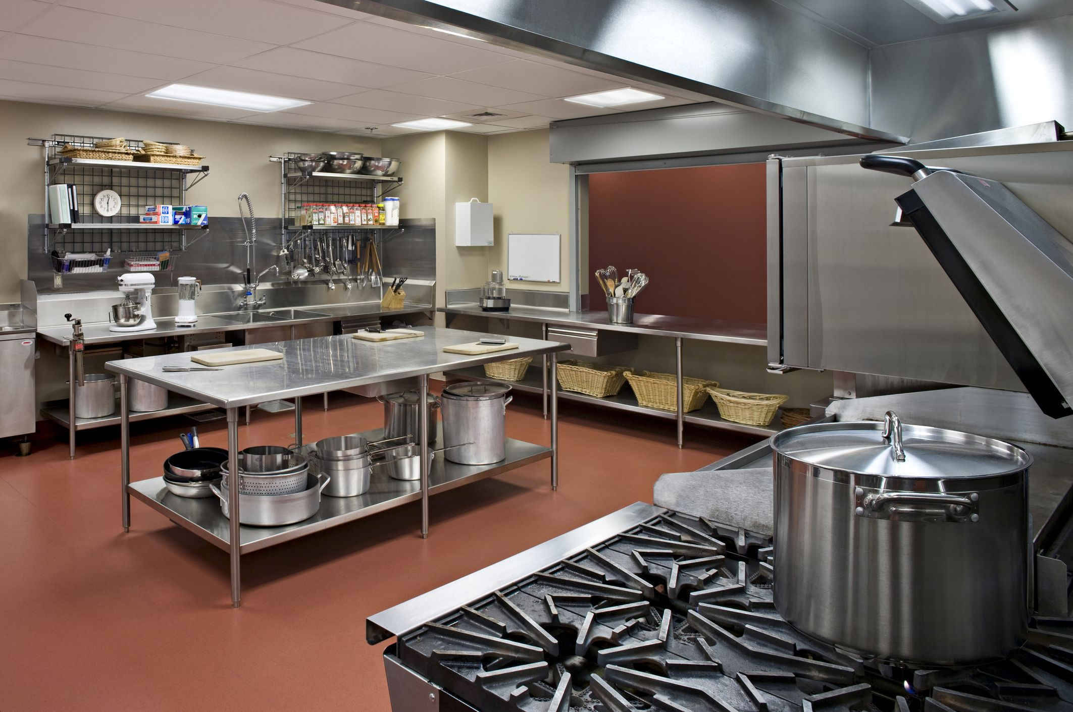Perfect Commercial Kitchen Layout