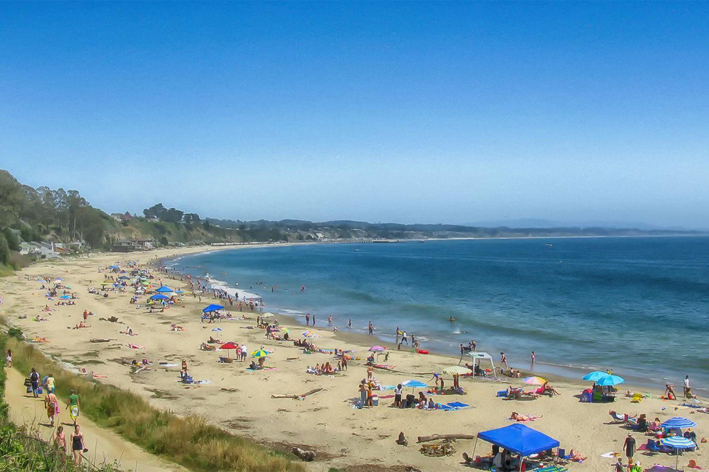 Camping In Santa Cruz Near The Beach