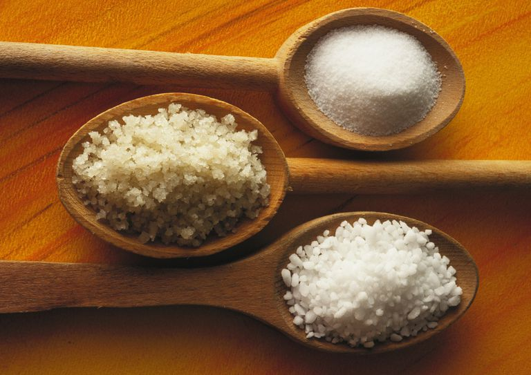 Three types of salt