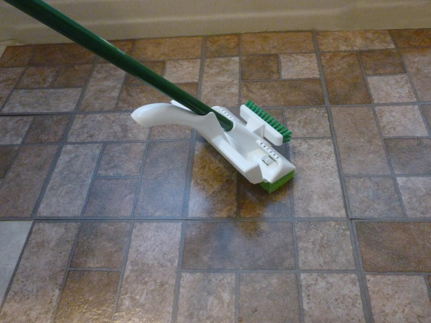 Heres how to clean travertine flooring cleaning self adhesive floor tiles vinyl cork linoleum and rubber doublecrazyfo Gallery