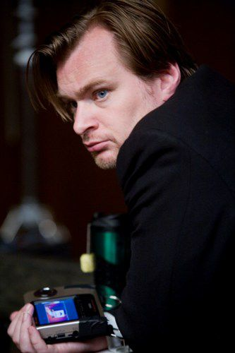 Christopher Nolan on The Dark Knight Set