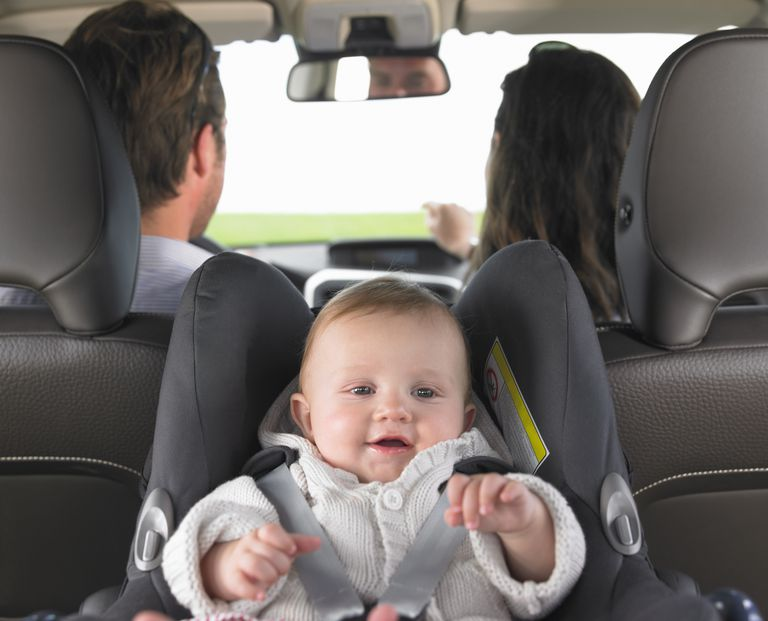 Rear-facing carseat