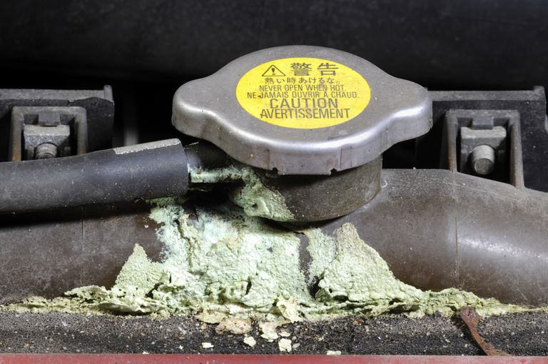 corroded cooling system