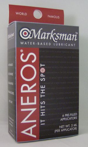 aneros marksman lubricant shooteres
