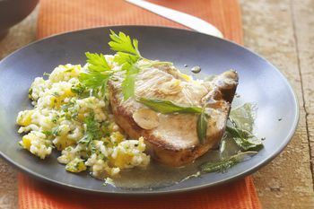 Try This Savory One Dish Pork Chop And Rice Bake Recipe
