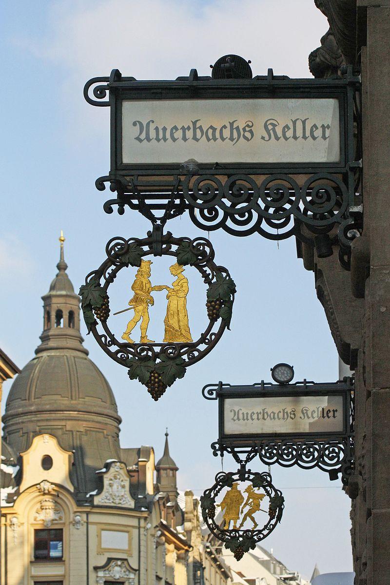 Auerbachs Keller in Leipzig