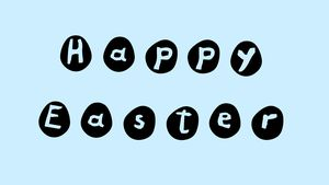 The Eggs Easter font