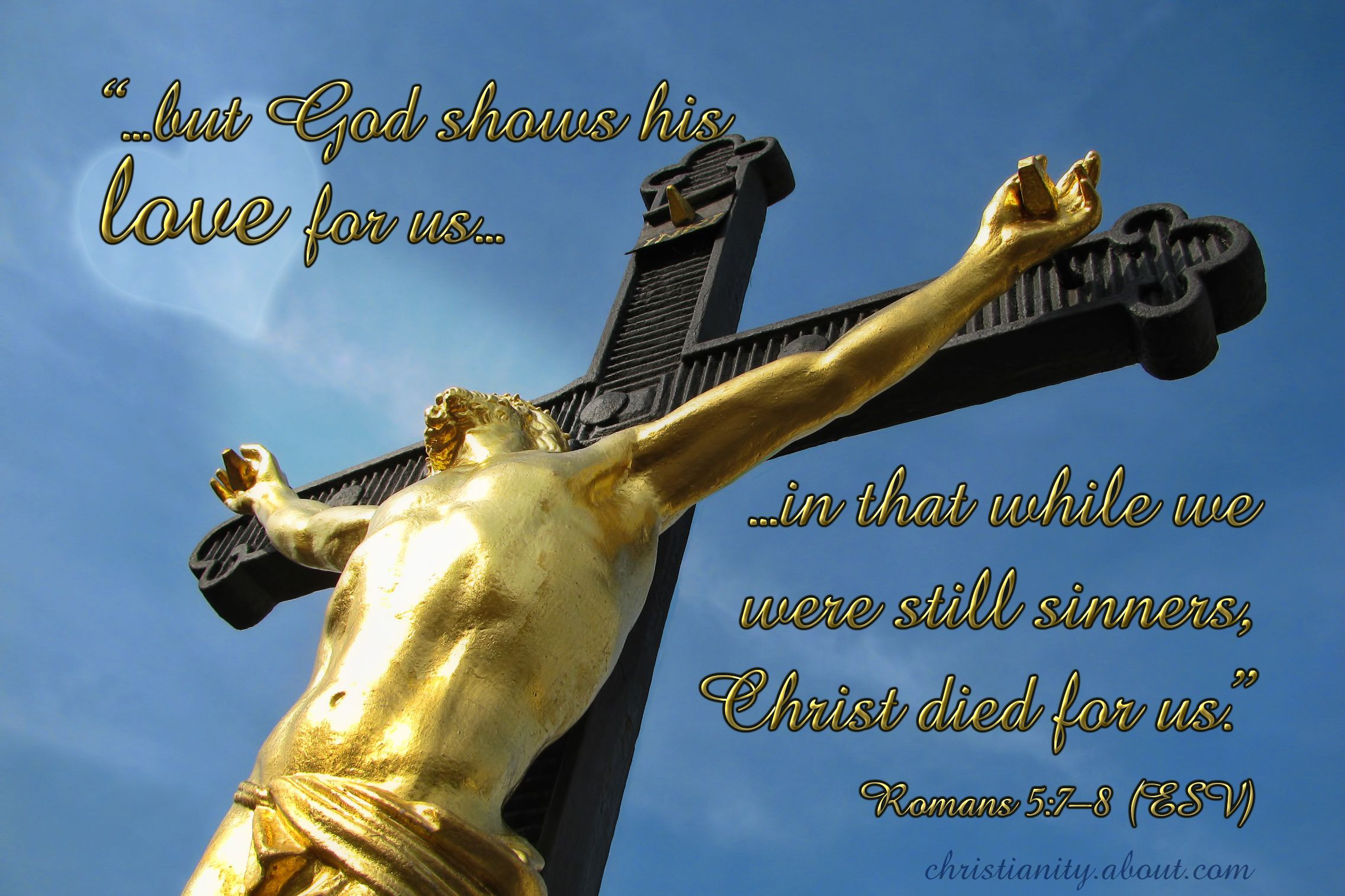 Verse of the Day God Loves You Romans 5 7 8