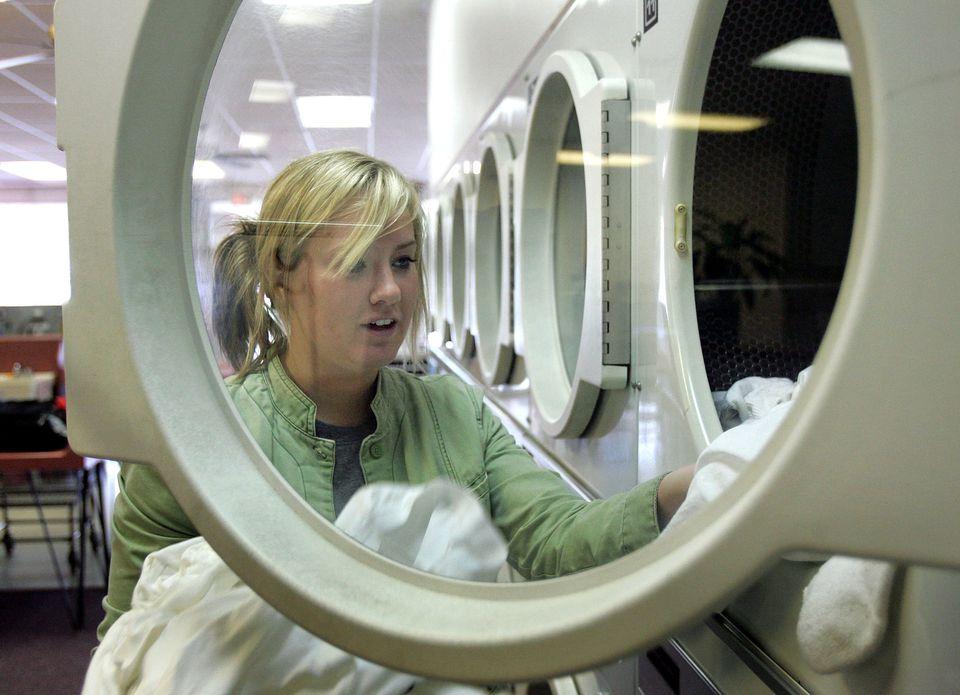 laundromat clothes dryer