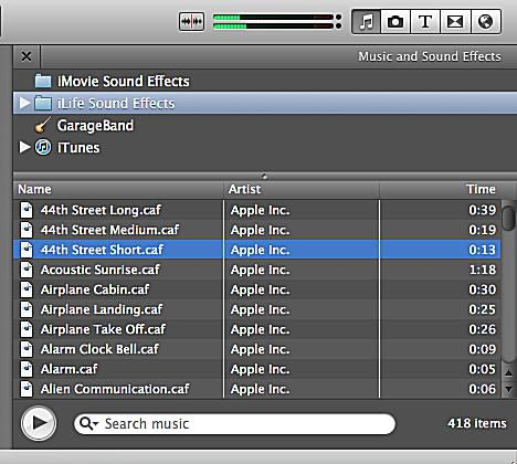 how to add music to video in imovie
