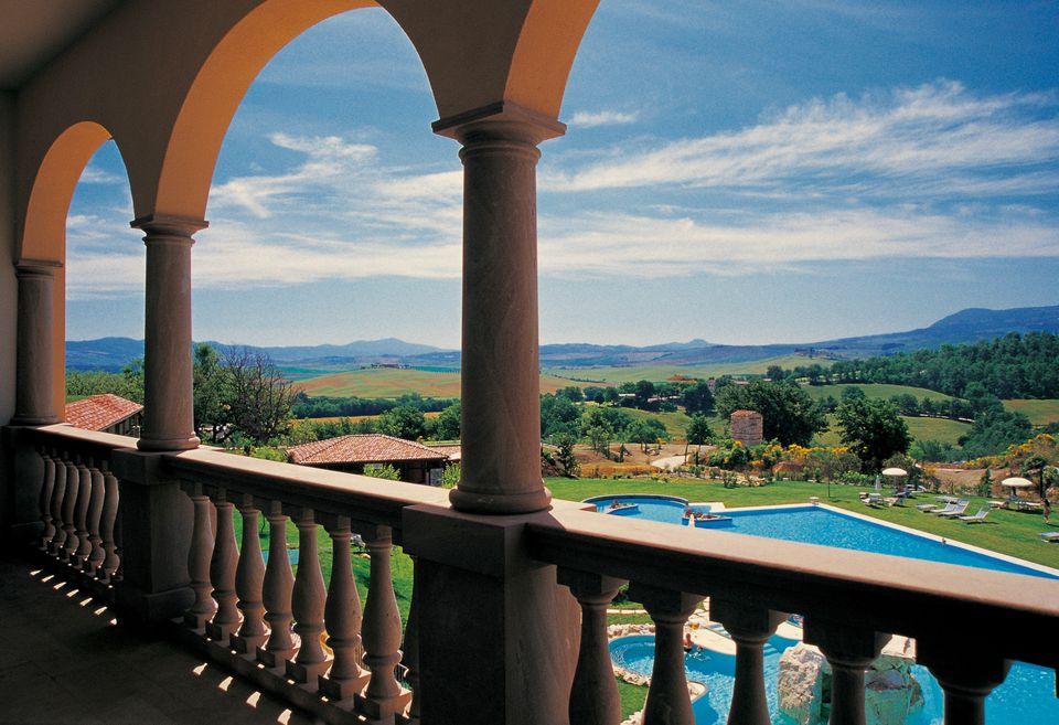 Adler Thermae spa resort hotel in Tuscany