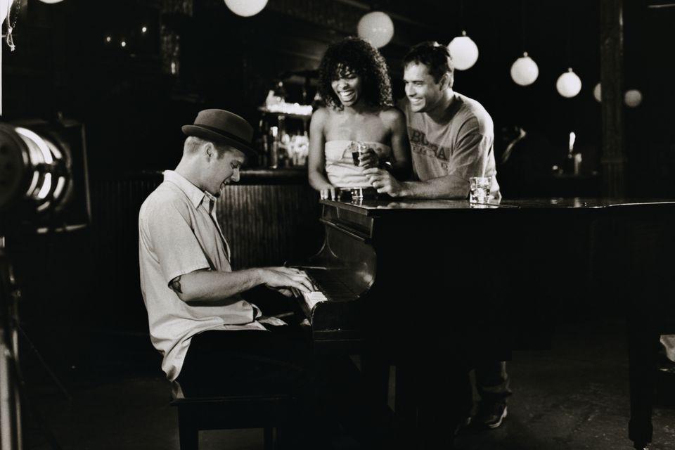 Friends at Piano Bar