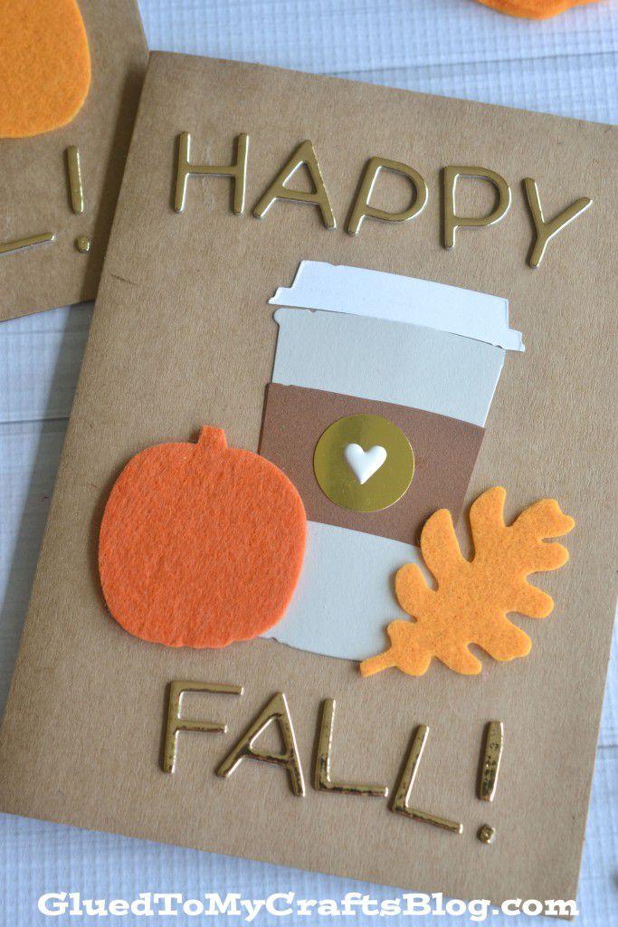 DIY Fall Greeting Card
