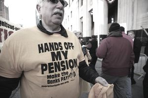 Cities will have to choose between paying bonds and pensions.