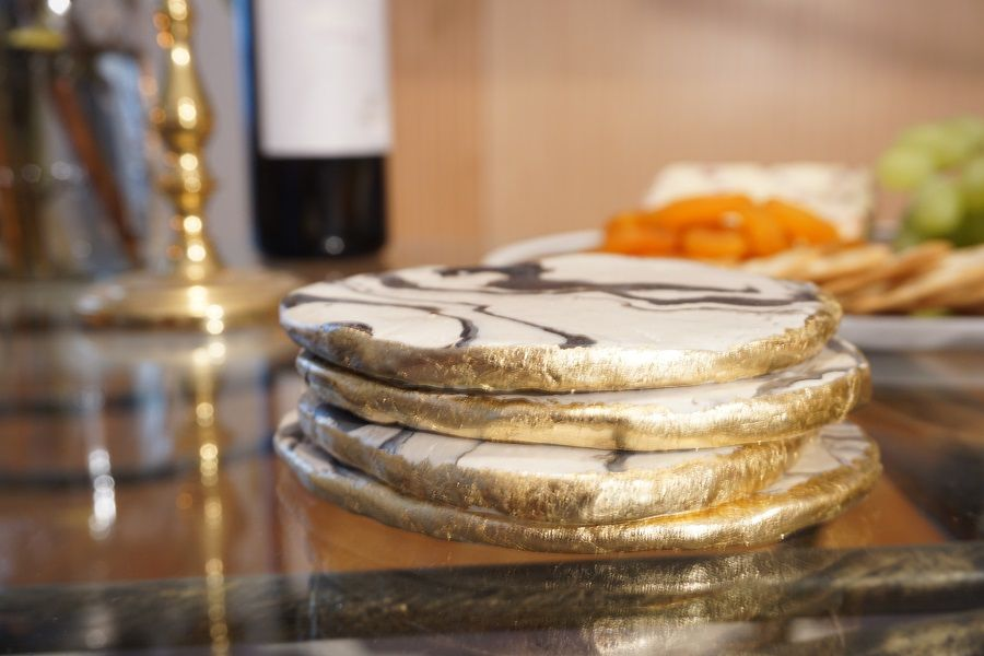 Dazzling DIY Coasters You Can Make Over The Weekend