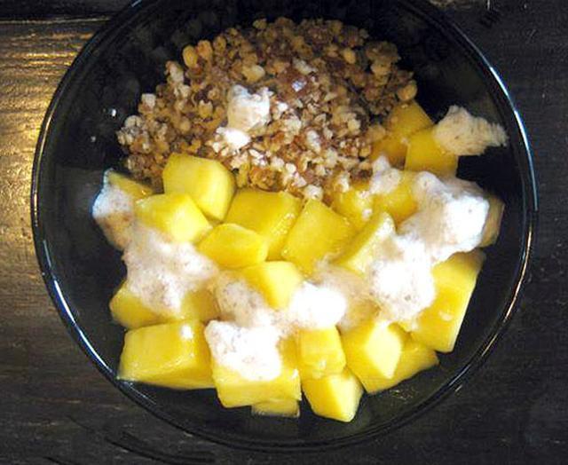 Raw food breakfast cereal muesli recipe raw food breakfast muesli recipe forumfinder Image collections