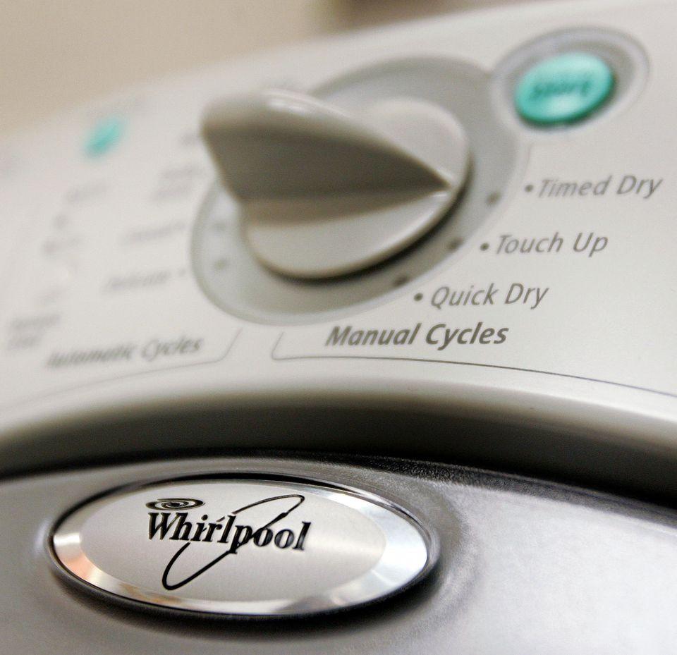 Whirlpool Dryer Dials