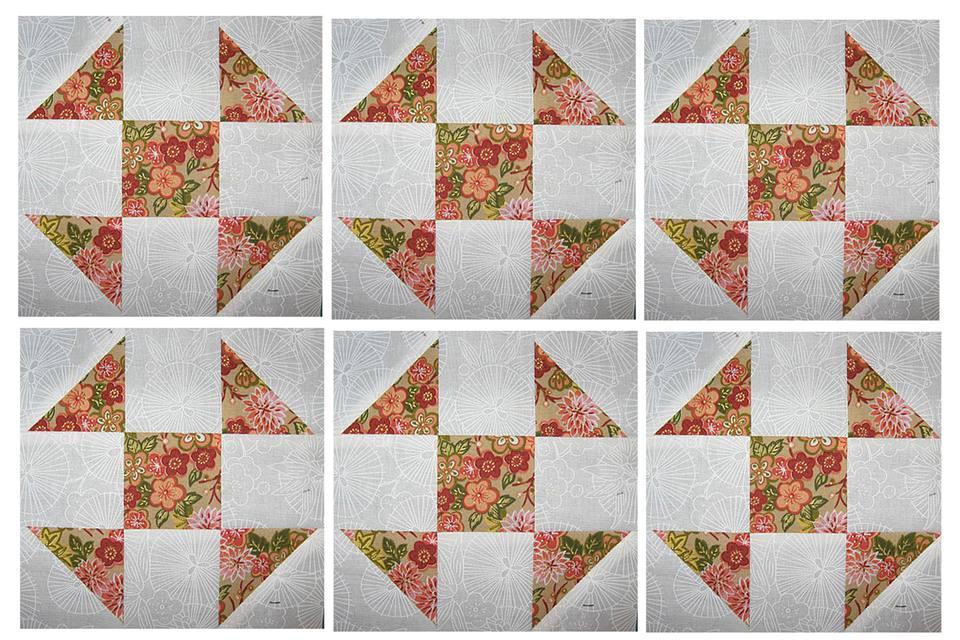 Easy Shoo Fly Quilt Block Pattern