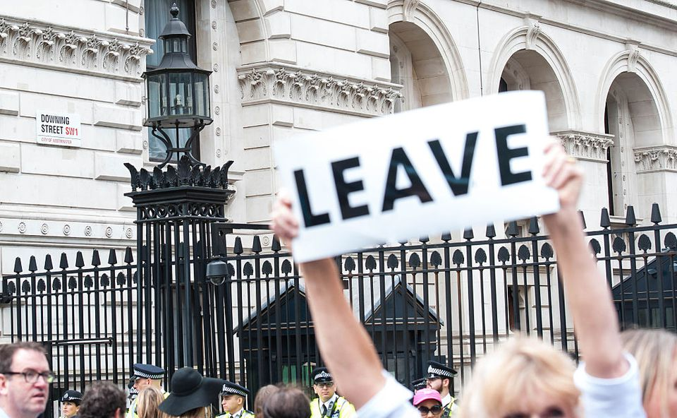 Thousands march in Brexit protest
